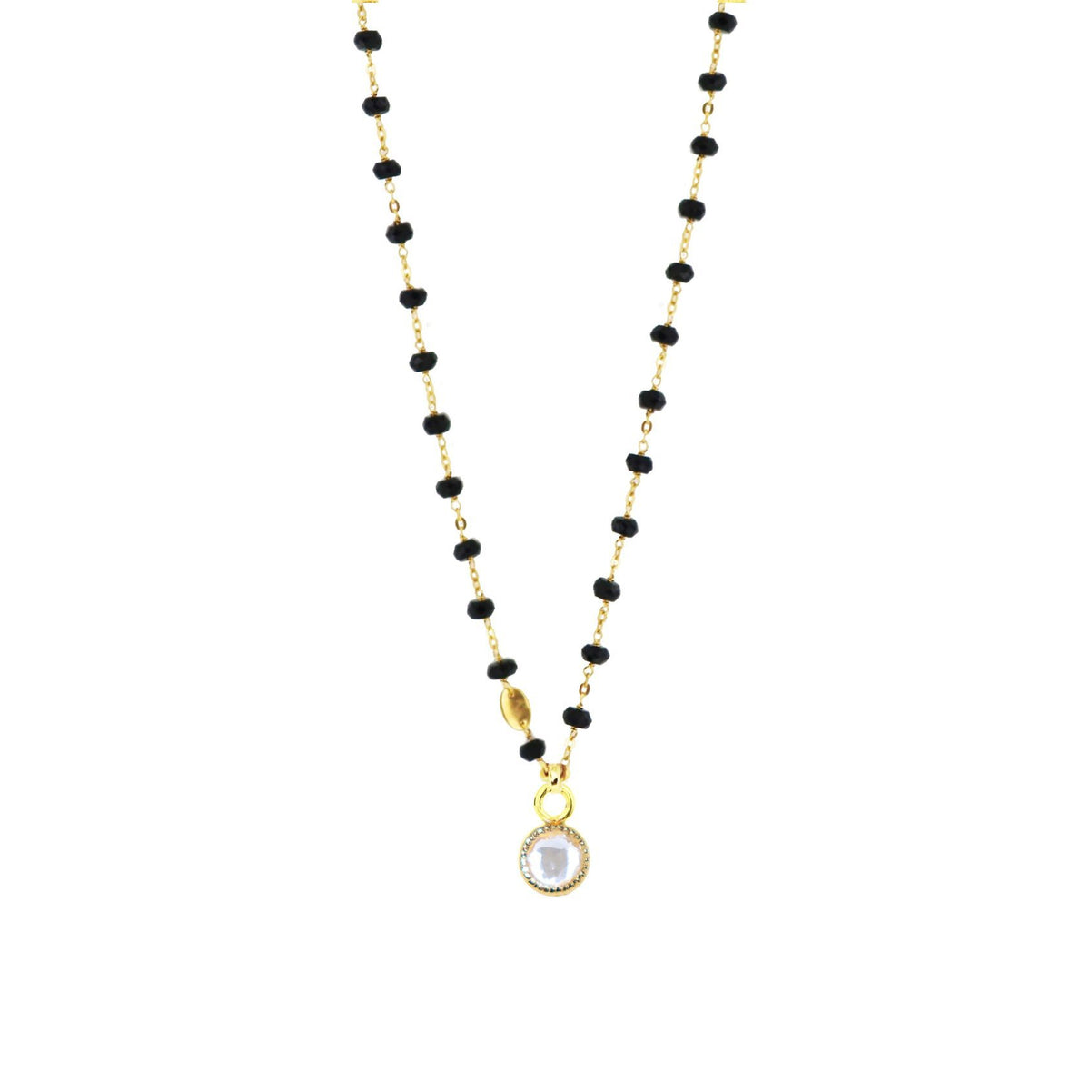 LEGACY ICON - WHITE TOPAZ & GOLD - SO PRETTY CARA COTTER