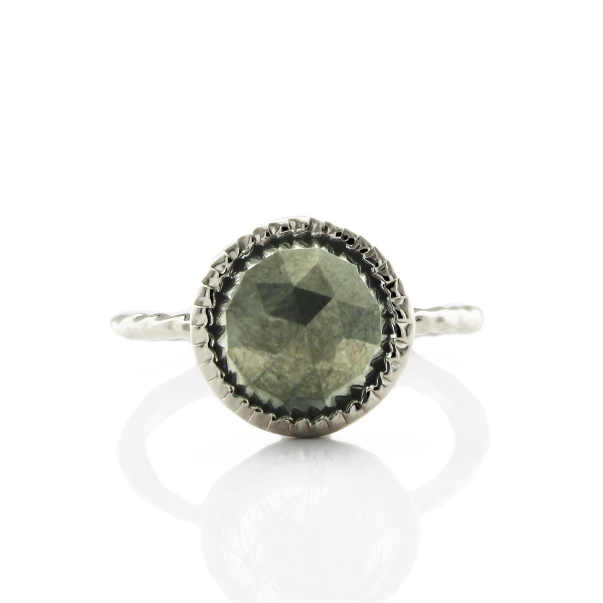 LEGACY RING - METALLIC PYRITE & SILVER - SO PRETTY CARA COTTER