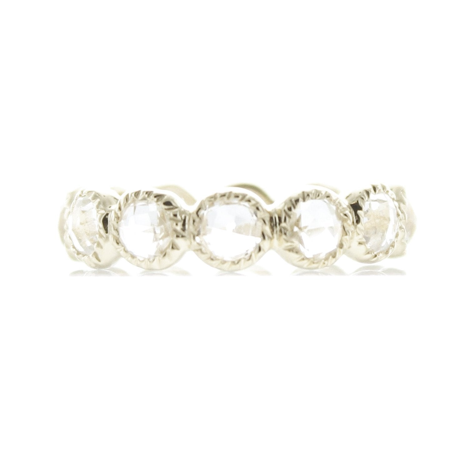 LEGACY RING WHITE TOPAZ & SILVER - SO PRETTY CARA COTTER