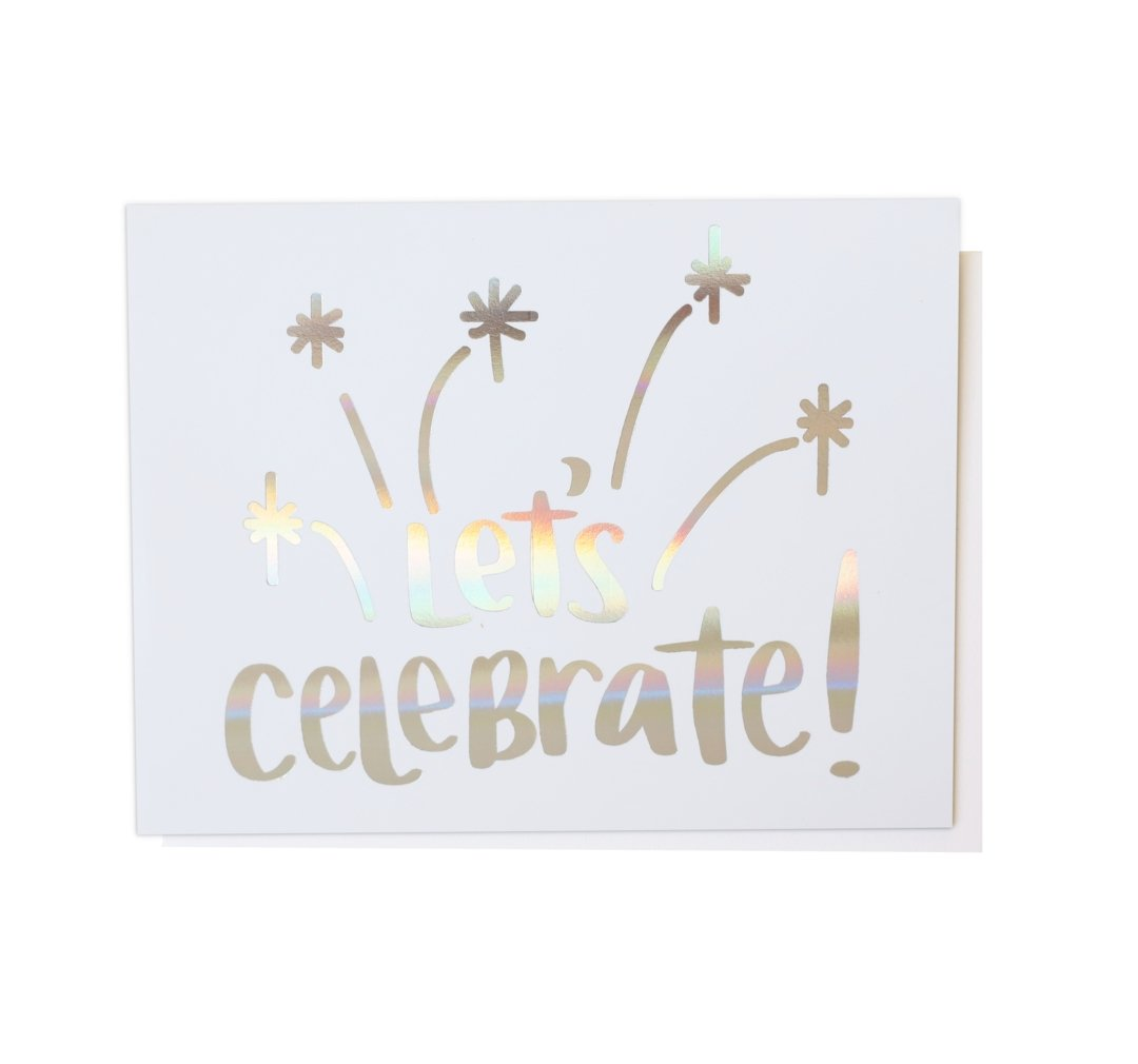 Let's Celebrate!, Greeting Card - SO PRETTY CARA COTTER