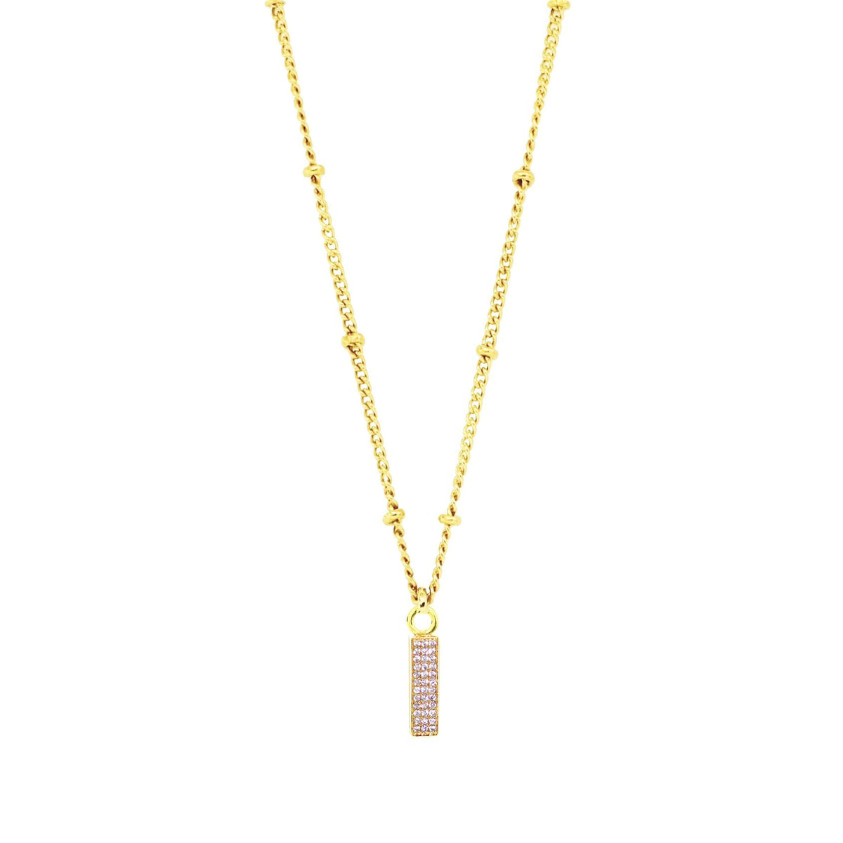 LOVE ICON - CUBIC ZIRCONIA & GOLD - SO PRETTY CARA COTTER