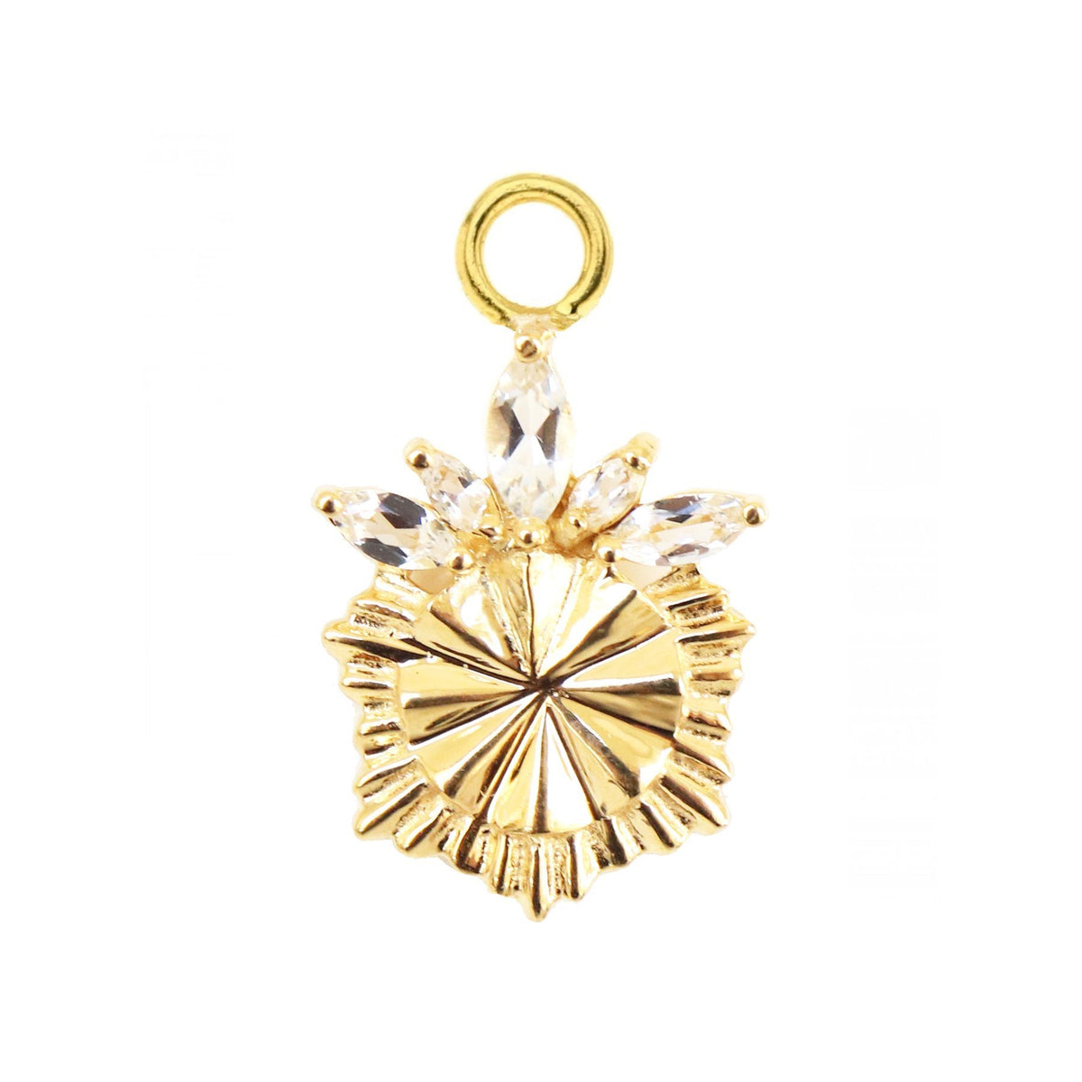 MINI BELIEVE SOLEIL ICON - CUBIC ZIRCONIA & GOLD - SO PRETTY CARA COTTER