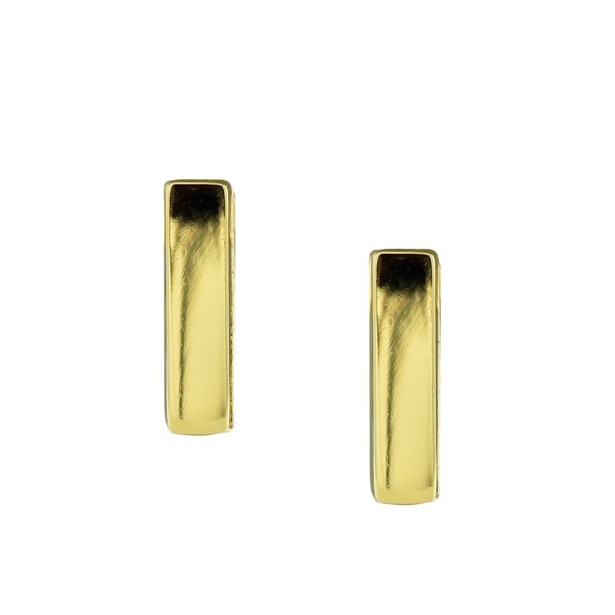 MINI POISE BAR EARRINGS - GOLD - SO PRETTY CARA COTTER