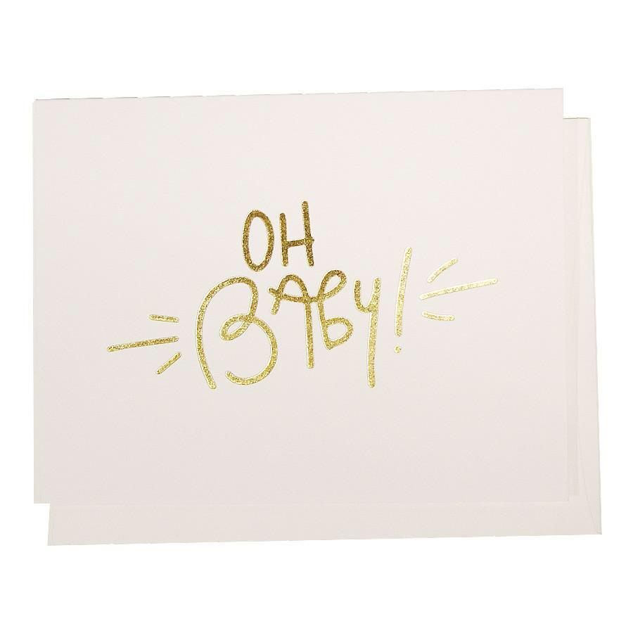 Oh Baby! Greeting Card - SO PRETTY CARA COTTER