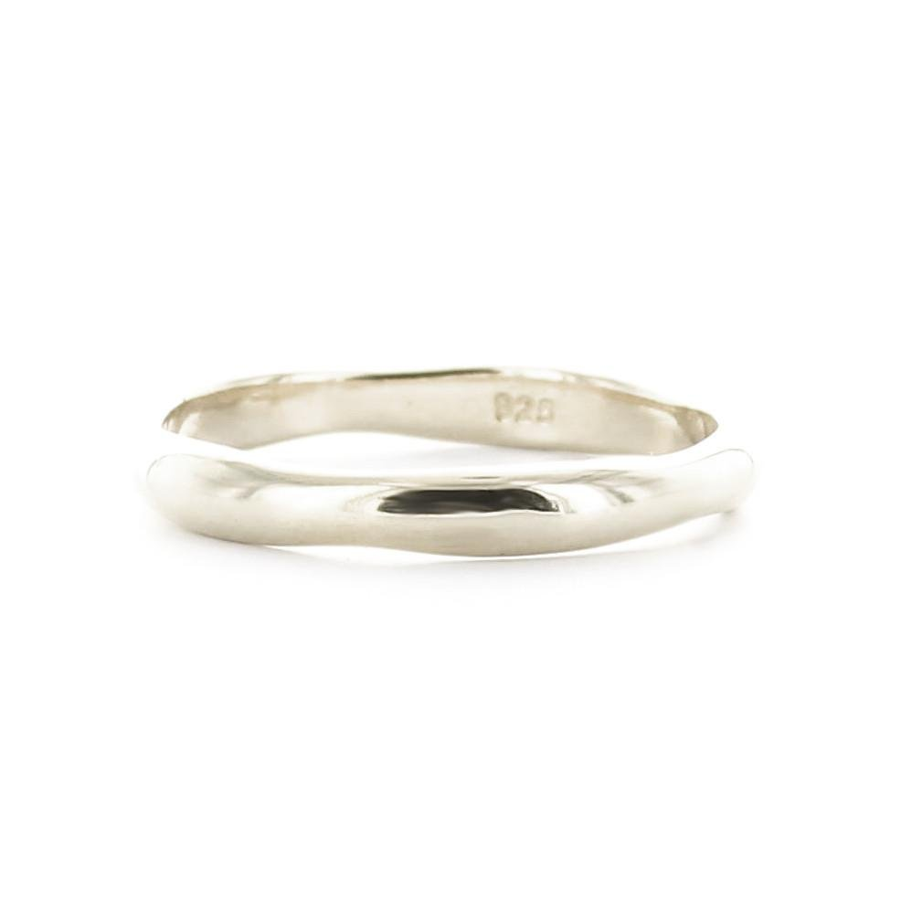 POISE STACKING RING & PENDANT SILVER - SO PRETTY CARA COTTER