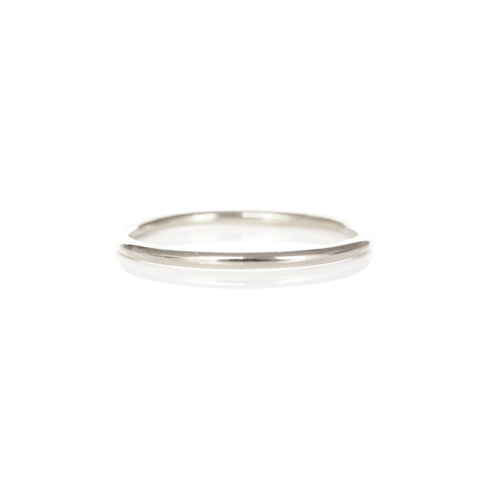 POISE THIN BAND RING - SILVER - SO PRETTY CARA COTTER