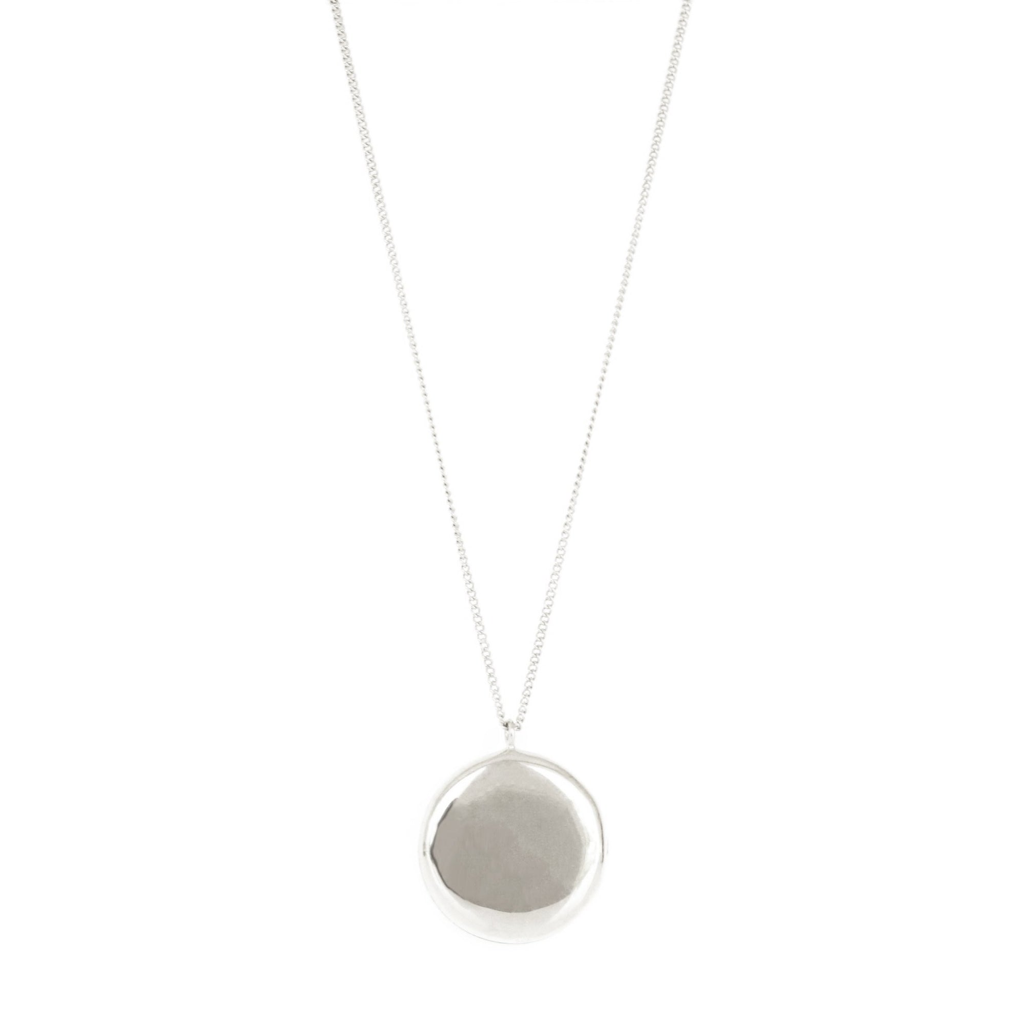PREORDER FRAICHE INSPIRE LOCKET NECKLACE - SILVER - SO PRETTY CARA COTTER