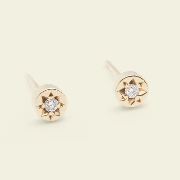 Gypsy Spark Earrings (14k Yellow Gold)