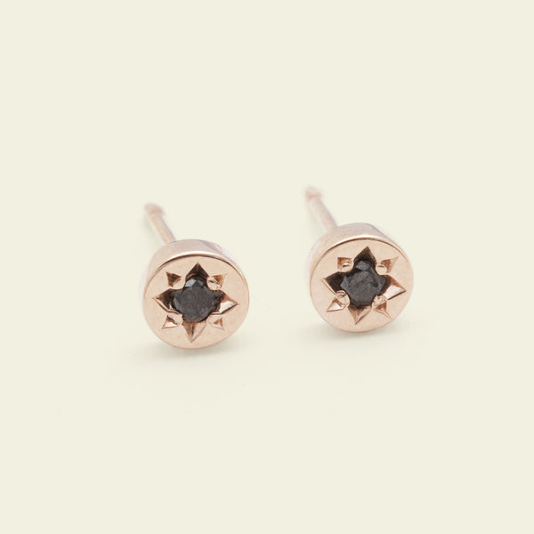 Gypsy Spark Earrings (14k Rose Gold)