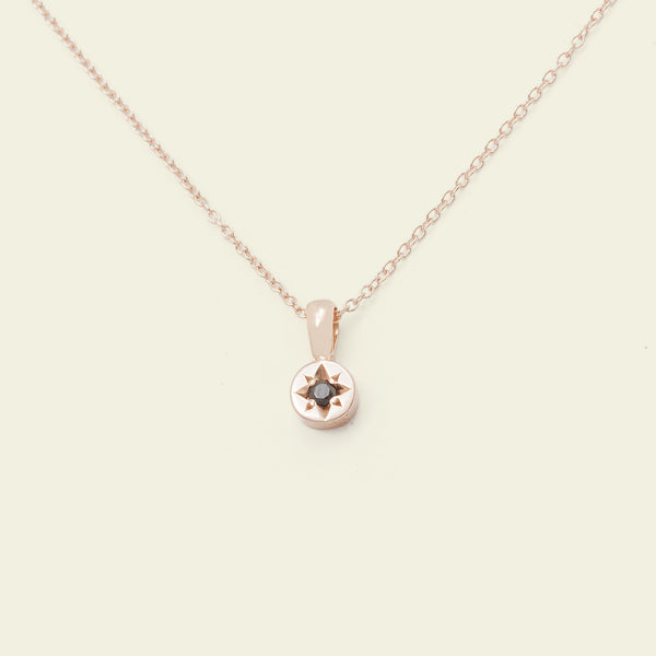Gypsy Spark Necklace (14k Rose Gold)