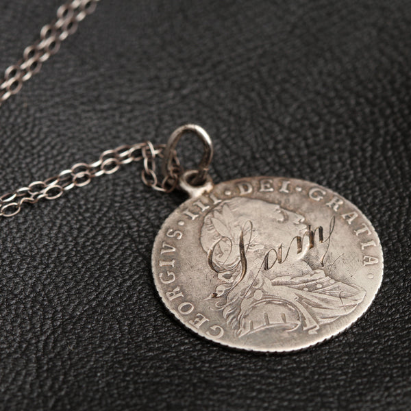 "Georgian ""Sam"" Love Token Necklace"