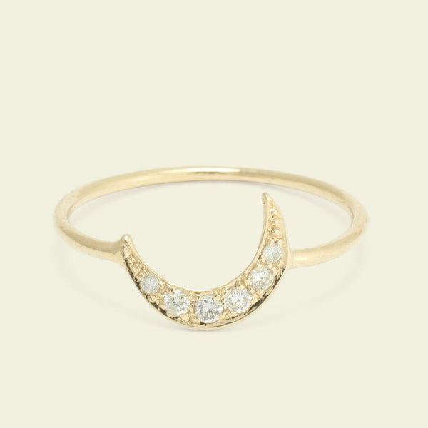 Lunar Ring (Diamonds)