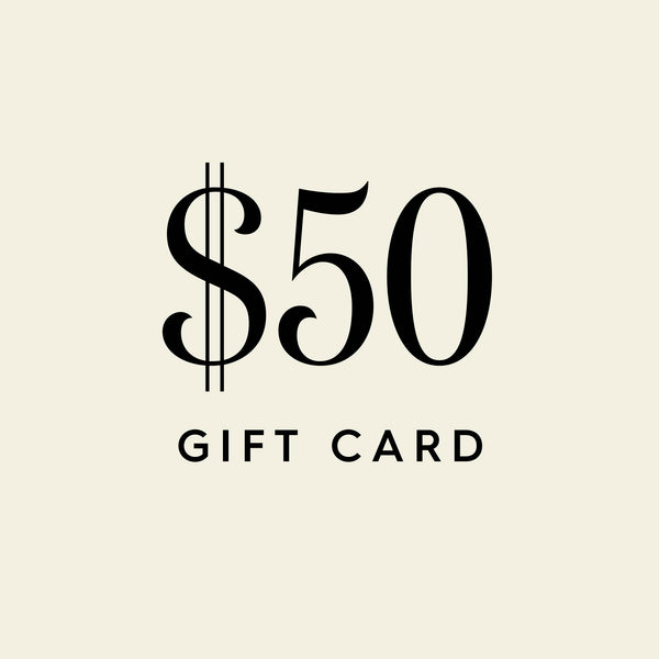 $50 Digital Gift Card