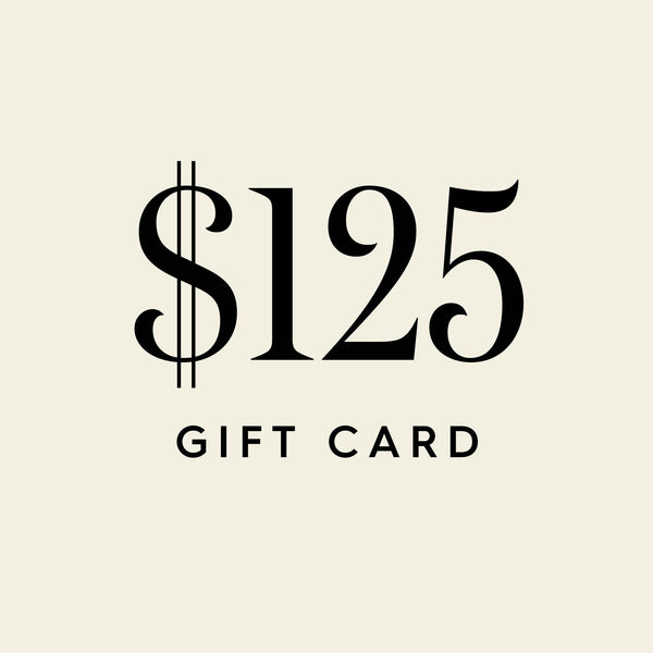 $125 Digital Gift Card