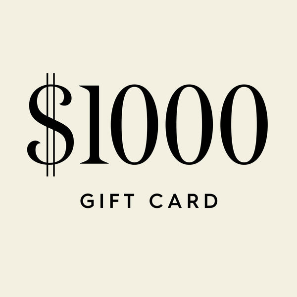 $1000 Digital Gift Card