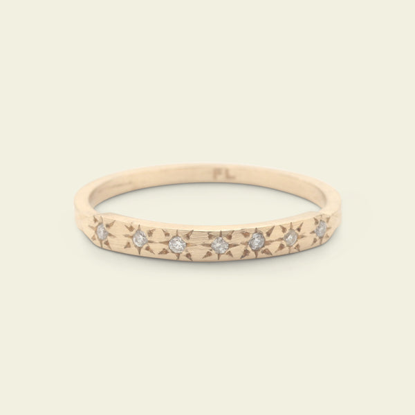 Starry Night Ring (Yellow Gold)