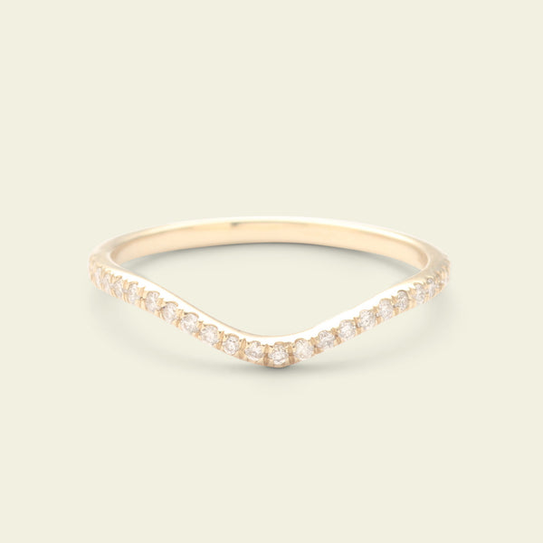 Diamond Eternity Curve Band