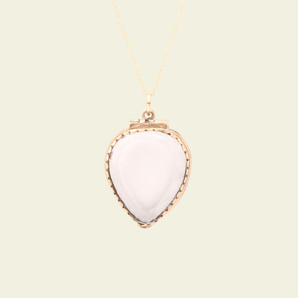 Georgian Faceted Heart Locket