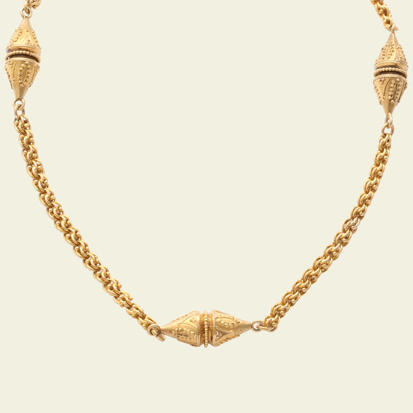 Etruscan Revival Collar