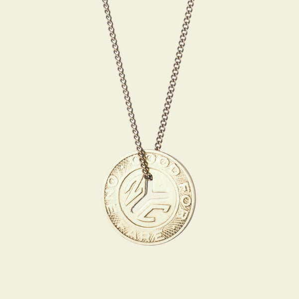 NY Transit Token Necklace (large)