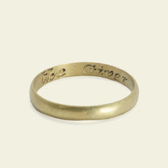 """Love the Giver"" 18th Century Poesy Ring"