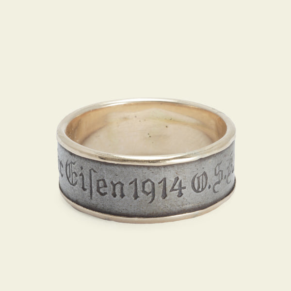 "Austro-Hungarian ""I Gave Gold for Iron 1914"" War Fund Ring"