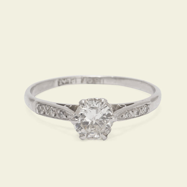 1920s .48ct Diamond Engagement Ring
