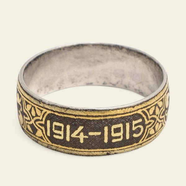 1914-1915 Iron and Gold Band