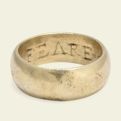 """Feare God"" Poesy Ring"