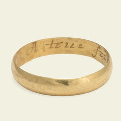 """A true friends gift"" Poesy Ring"