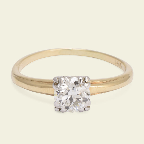 1950s .65ct Diamond Solitaire