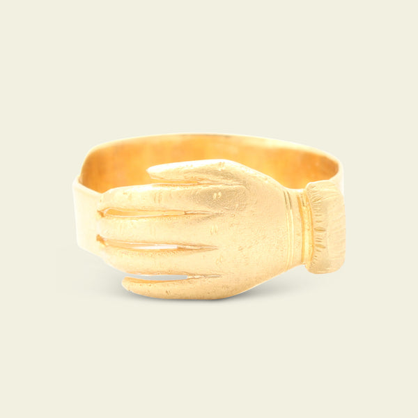 Early 19th Century Gold Hand Ring