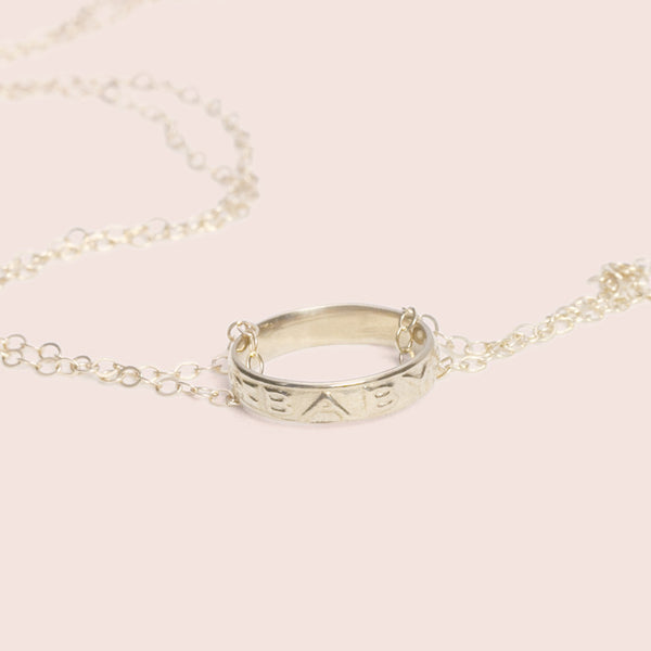 Baby Ring Necklace