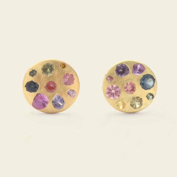 Watercolor Palette Disc Studs