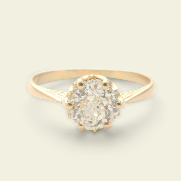 1.55ct Crown Jubilee Diamond Solitaire