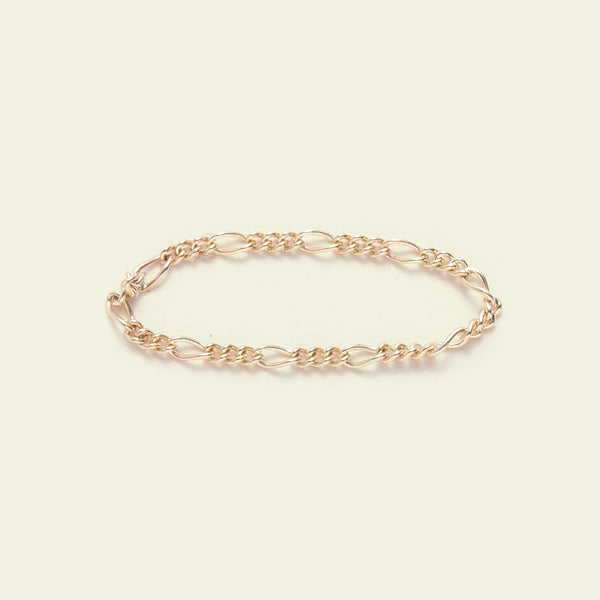 Cashmere Chain Ring (14k yellow gold)