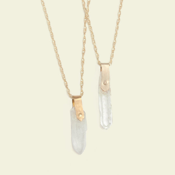 Magic Vibes Necklace (Clear Quartz)