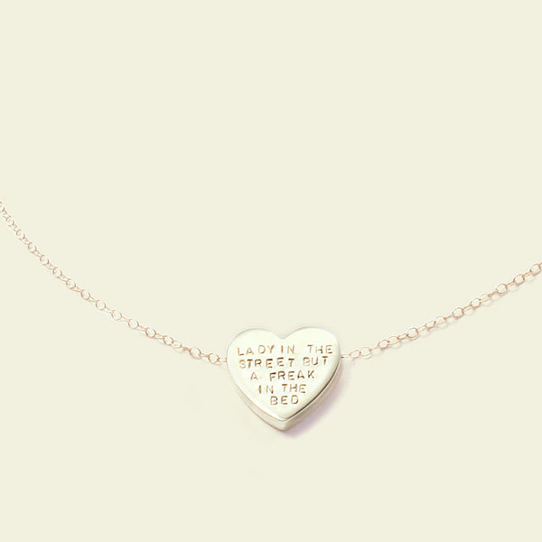 Customizable Heartbeats Necklace