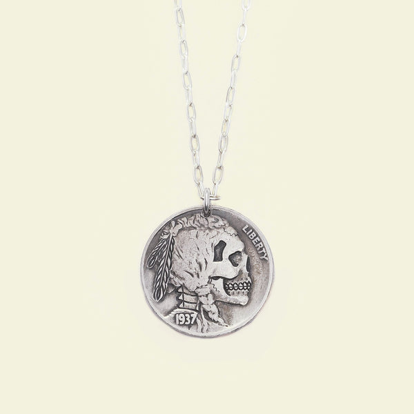 Death's Head Amulet