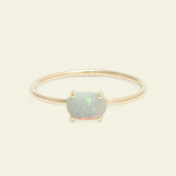 Opal Horizon Ring