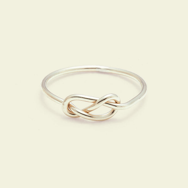 Infinity Ring (14K yellow gold)