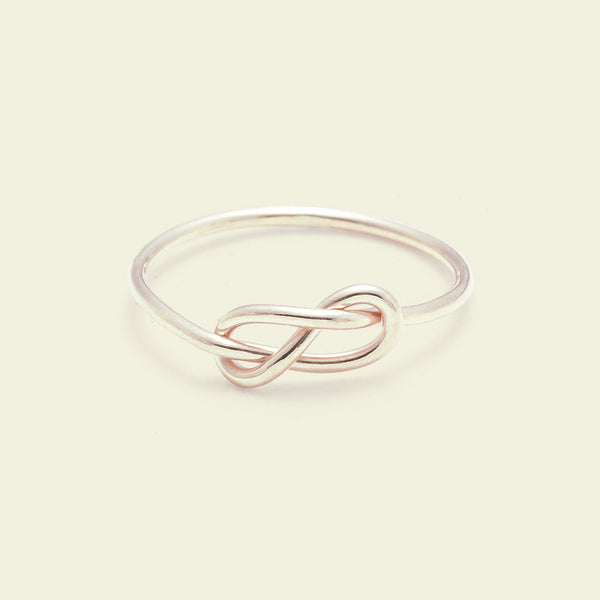 Infinity Ring (14k rose gold)