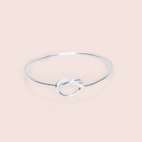 Knot Really Ring (silver)