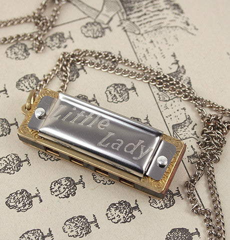 Little Lady Harmonica Necklace