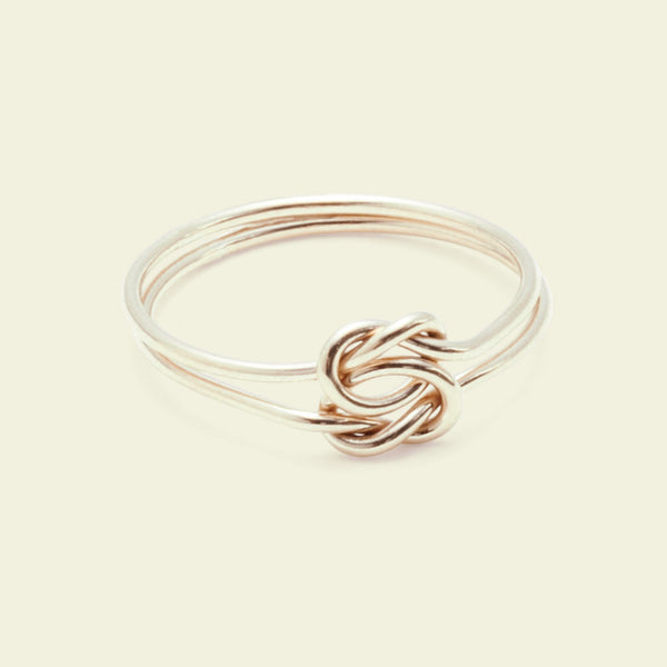 Lover's Knot Ring (14k yellow gold)