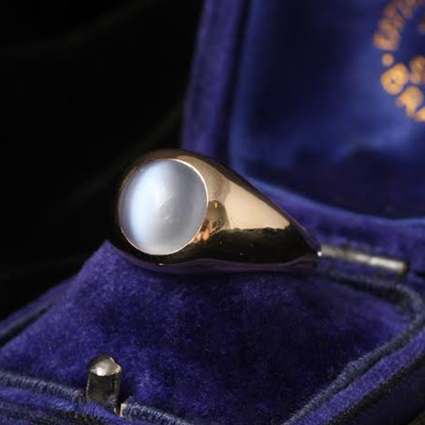Vintage Tiffany Moonstone Ring
