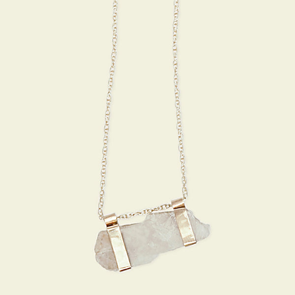 Moonstone Campaign Necklace