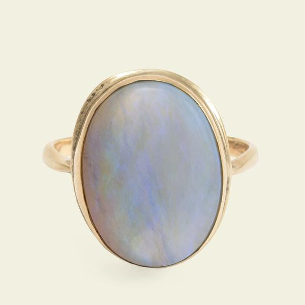 Giant Opal Cocktail Ring