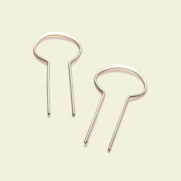 Portal Earrings (14K yellow gold)