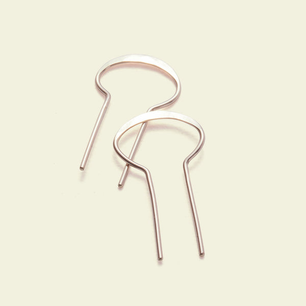 Portal Earrings (14k rose gold)